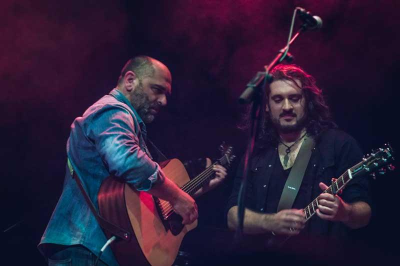 Fran Fernandez y Tonxtu en Joy Eslava